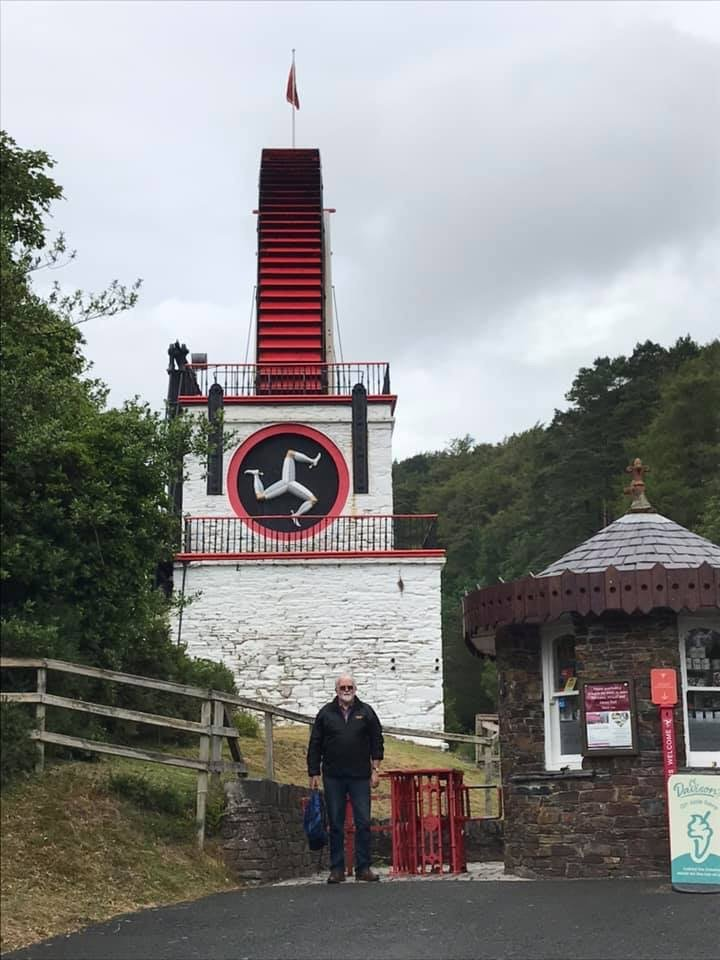 IOM 2019 Chris at Laxey